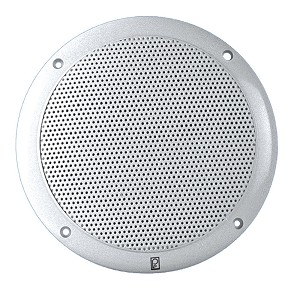 Poly-Planar 6'' Dual Cone Integral Grill Speaker - (Pair) White