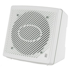 Poly-Planar 5.25'' Premium Enclosed Flush 2-Way Marine Speaker - (Pair) White