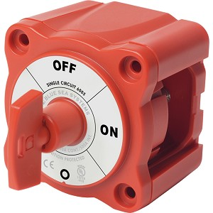 Blue Sea 6005 m-Series (Mini) Battery Switch Single Circuit ON/OFF