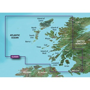 Garmin BlueChart® g3 Vision® HD - VEU006R - Scotland, West Coast - microSD™/SD™
