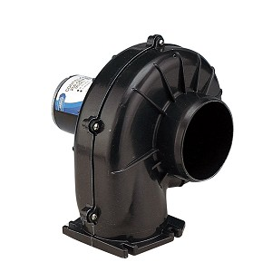 Jabsco 4'' 250 CFM Flangemount Heavy Duty Blower - 12V